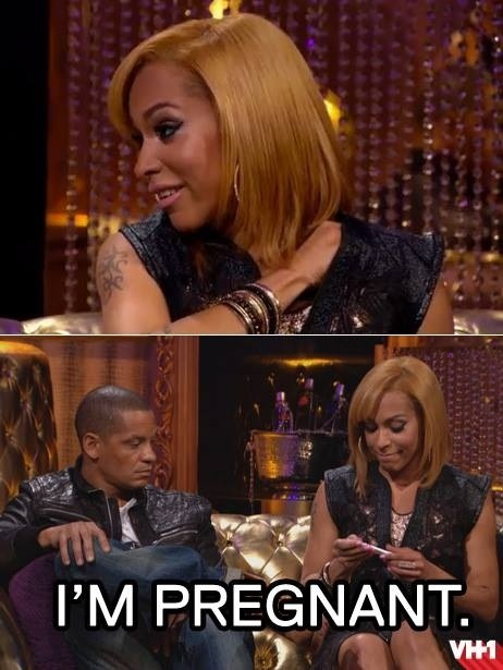 """PETER GUNZ & AMINA BUDDAFLY OF """"LOVE AND HIP HOP"""" ARE HAVING"""