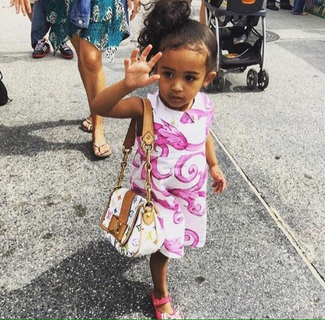 chris brown daughter - 601×656